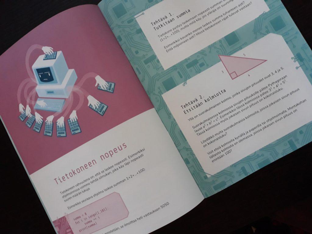 foto av boken Ohjelmointia matematiikan opetukseen (Programmering i matematikundervisningen)